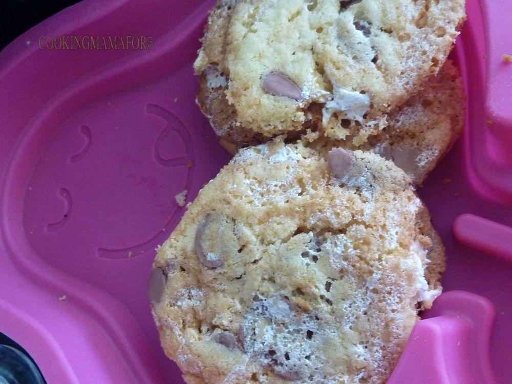 Cookies  Marshmallow Fluff et pépite de chocolat  (1/3)