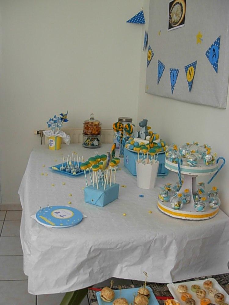 My sweet table : Baptême de Sullyan sous le signe de Victor et Lucien ( Noukies ) (2/6)