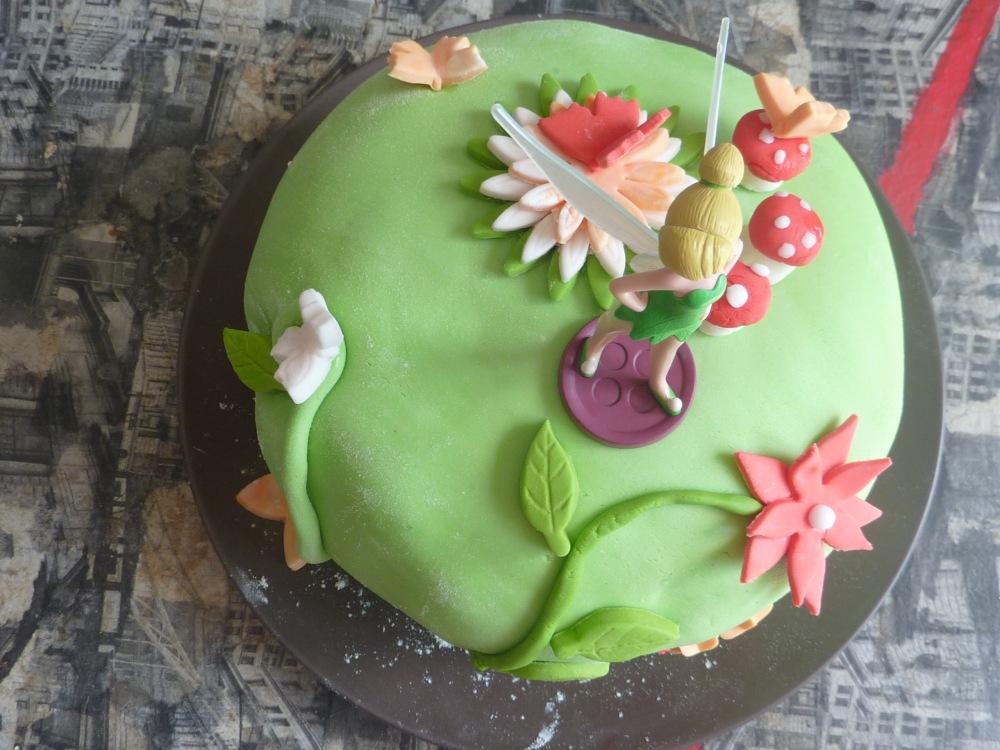 Gâteau Fée Clochette (2/6)